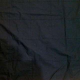 Solid Black King/queen Duvet Cover.