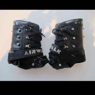 Goth Airwalk Boot Cuff