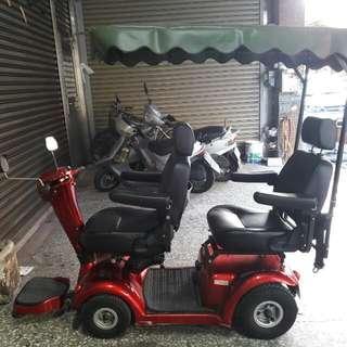 老人代步雙人座電動車(需自運)
