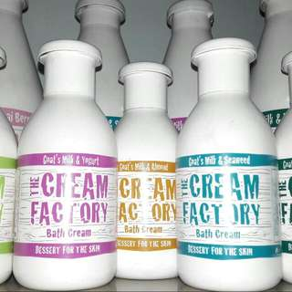 The Cream Factory Goat's Milk + Yogurt Dessert For The Skin