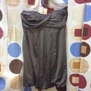 Grey Tube Dress