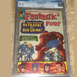 Fantastic Four #41 Cgc 8.5 Silver Age Collection