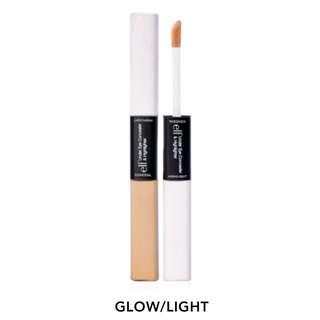 現貨 Javi-#81502 ELF雙頭2用眼部遮瑕提亮筆 自然Under eye concealer & Highlight-glow/light