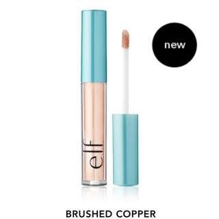 現貨 Javi-#57029 ELF眼影液 銅金Aqua Beauty Molten Liquid Eyeshadow-Brushed Copper
