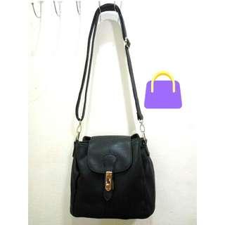 Black Satchel Bag