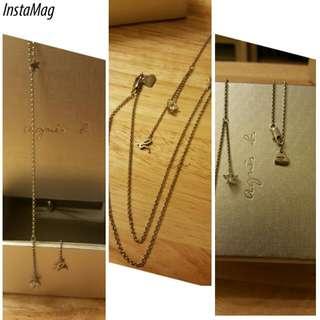 Agnes B Bijoux necklace y style necklace with swarovski Star Shape Crystal