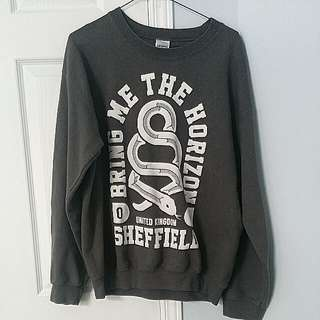 "Cozy ""Bring Me The Horizon"" Band Crew neck"