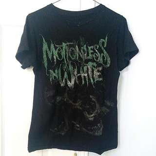 """Motionless In White"" Band T-shirt"