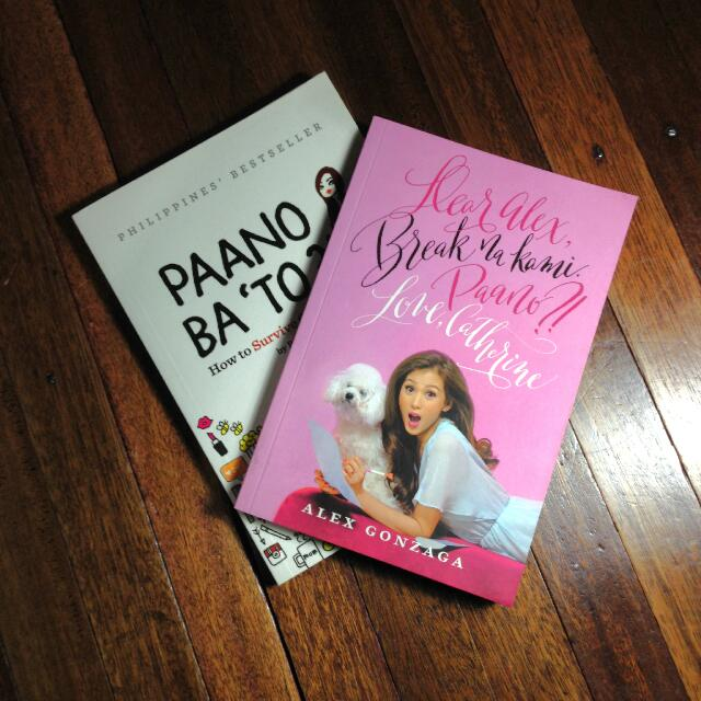 2 For 1 Book Bundle: PAANO BA 'TO & DEAR ALEX