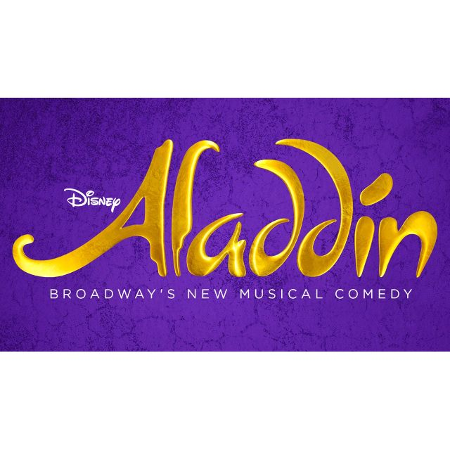 2x Aladdin Comedy Musical Tickets