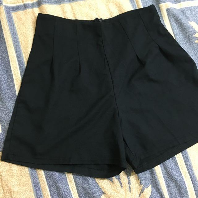 (保留)韓版高腰西裝褲