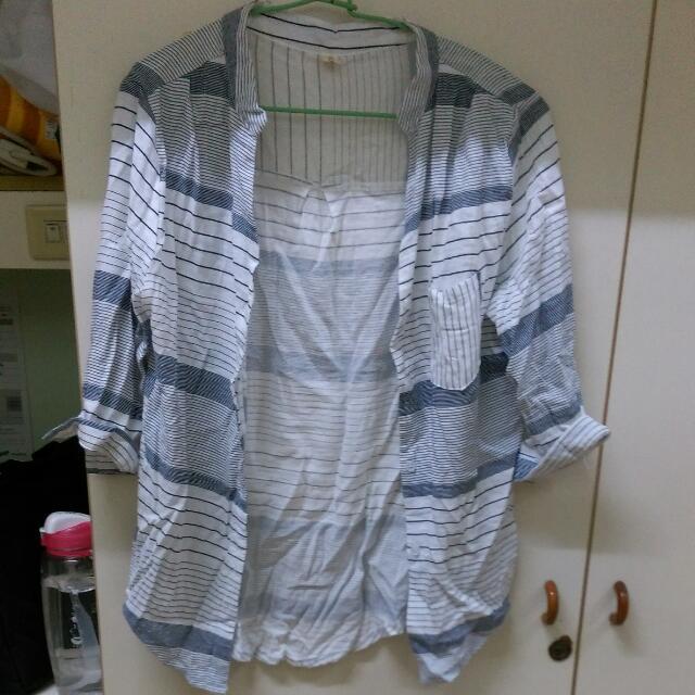氣質條紋襯衫
