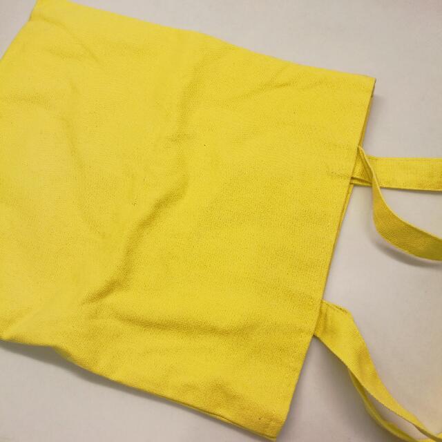 帆布包 黃色