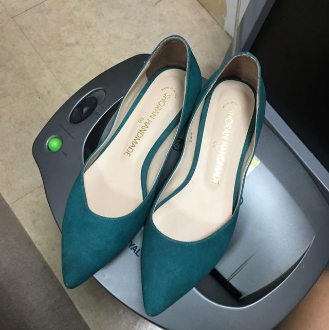 正韓 平底尖頭鞋