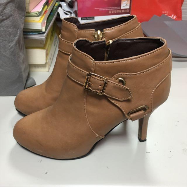 正韓 裸靴 短靴