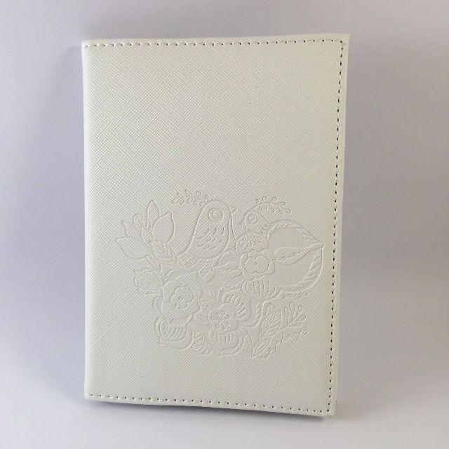 鳥語花香 護照套 白色 蔡依珊設計