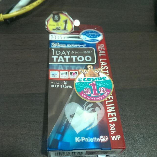 日本激賣 K-palette 咖啡色眼線筆 刺青眼線