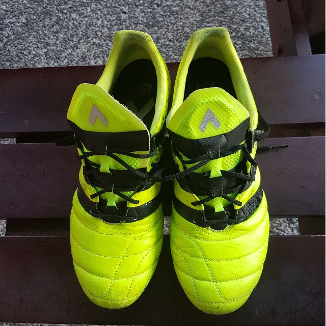 finest selection 7fcc4 f2ddc Adidas Ace 16.1 leather, Sports, Sports & Games Equipment on ...