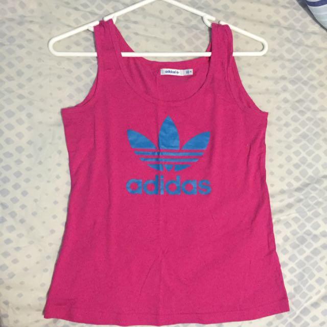 Adidas Pink Singlet