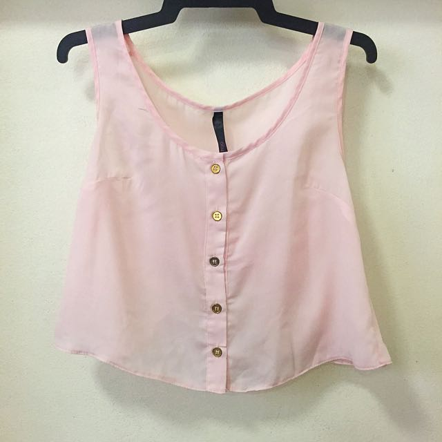 Ally Crop Blouse Size XS