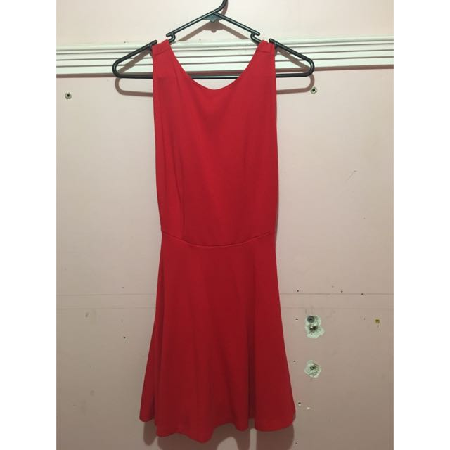 American Apparel Ponte Sleeveless Skater Dress M