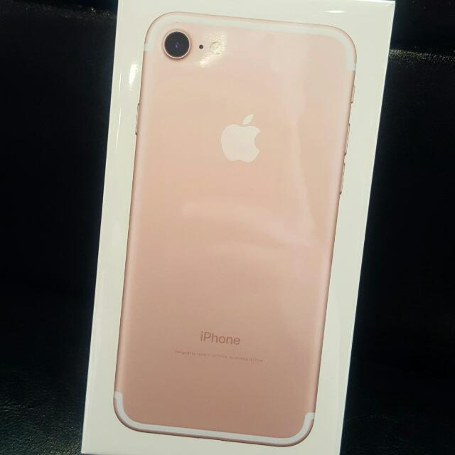 Apple iPhone7 128G 玫瑰金
