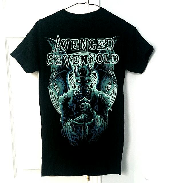 """Avenged Sevenfold"" Band T-shirt"
