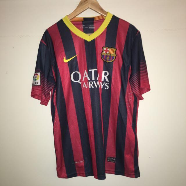 Barcelona 'No. 10' Messi Shirt