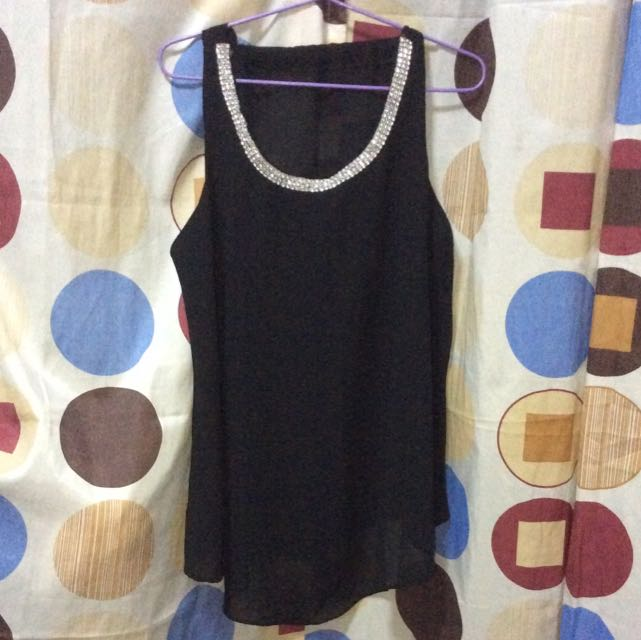 Black Party Top