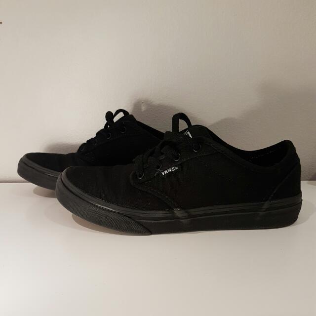 Black Vans - Unisex