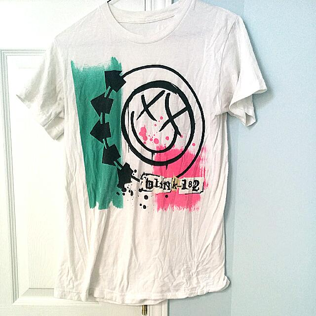 """Blink-182"" Band T-shirt"