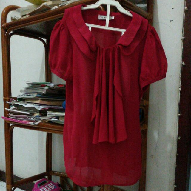 Blouse Red Mint