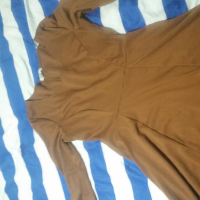 Brown Cotton On Dress Size Large