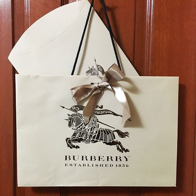 Burberry Original Paper Carry Bag Set