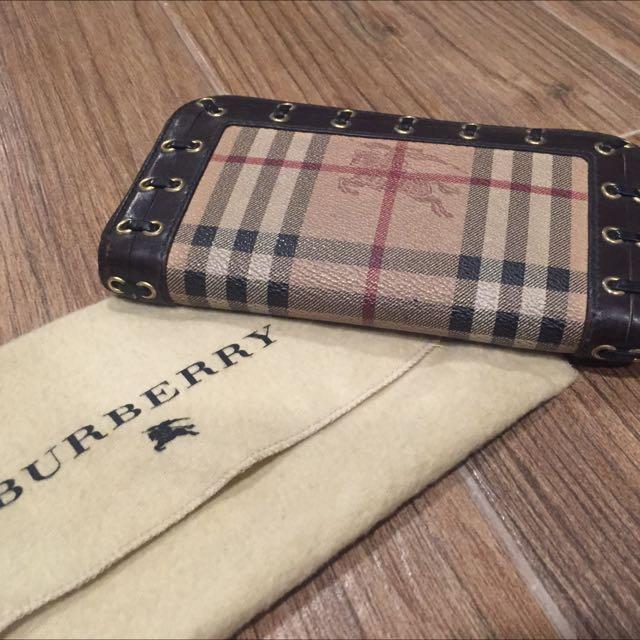 Burberry Ziparound Wallet
