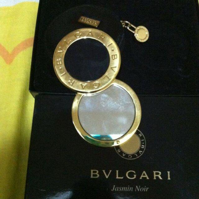 bvlgary gold plated mirror