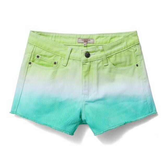 Caco 雙色渲染短褲