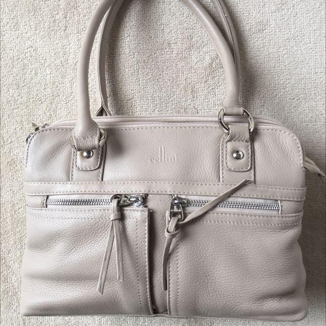Cellini Genuine Cowhide Leather Bag