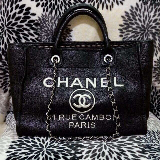 (保留)Chanel 皮質 中包 包包