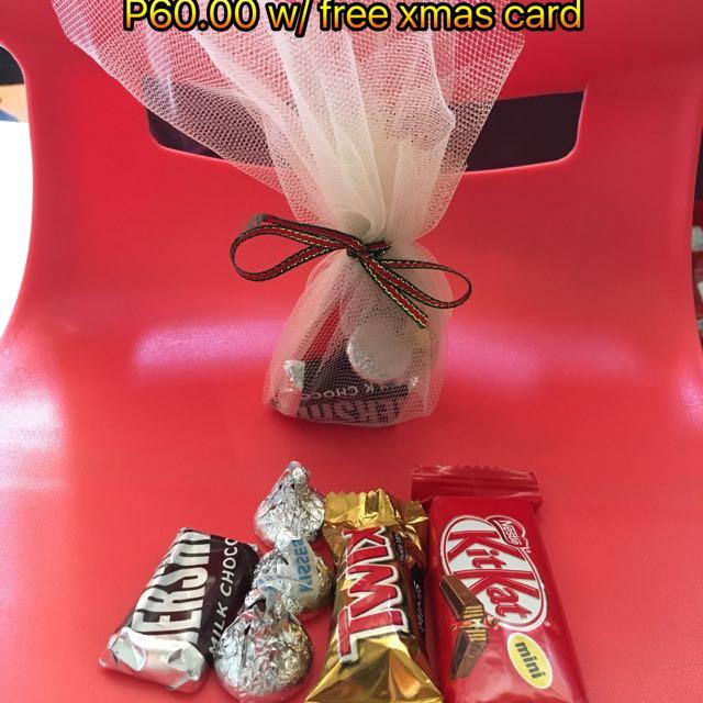 Christmas Gift Ideas (chocolates)