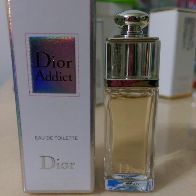 Dior超模淡香水