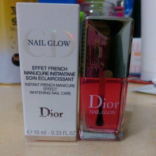 Dior亮甲油