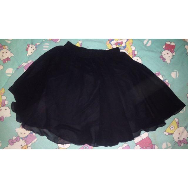 Flare Skirt Chiffon