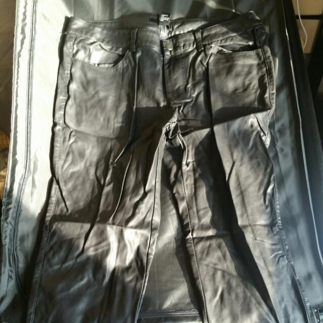 Forever 21 Size 29 Leather Pants