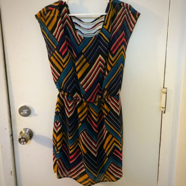 Fun Patterned Dress