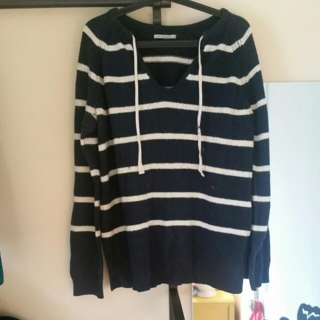 GAP XL KNITTED FALL SWEATER