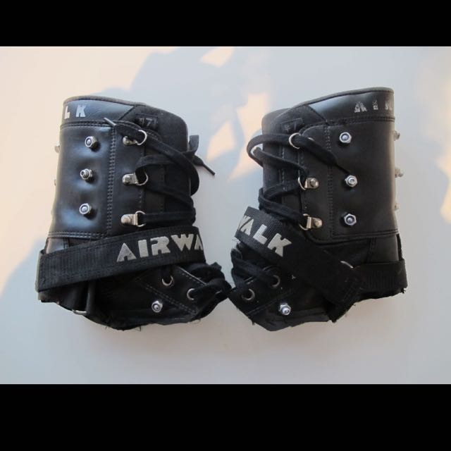 Goth Airwalk Boot Cuff
