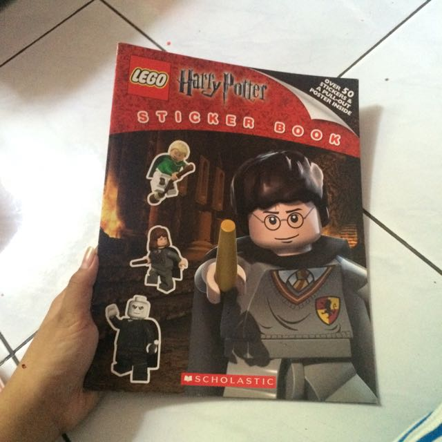 Harry Potter Lego Sticker Book