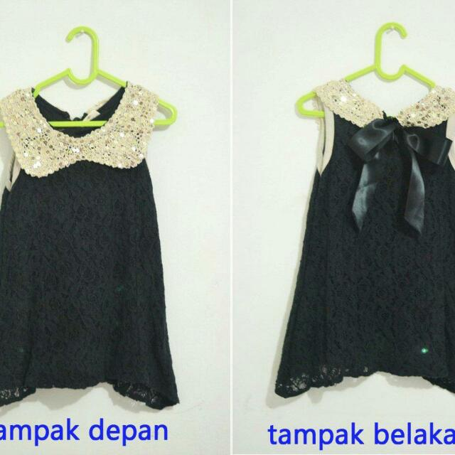 Import Baby Black Dress