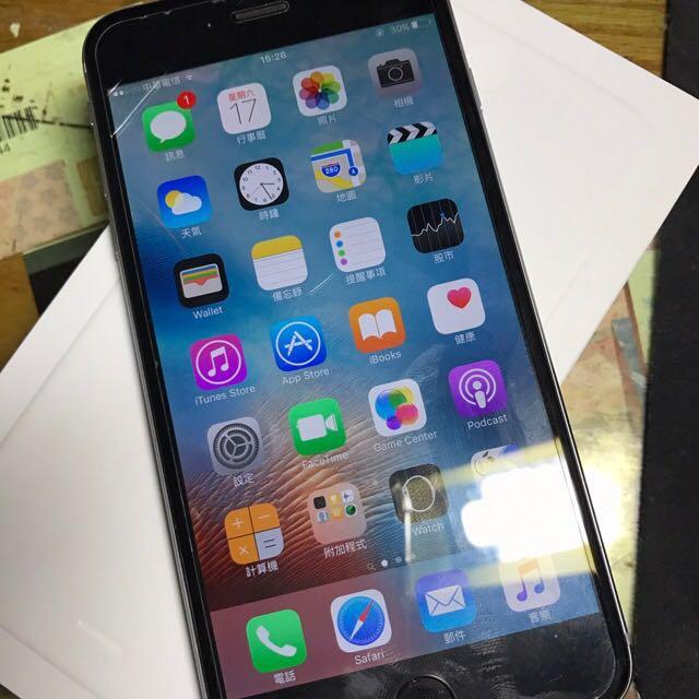 iPhone6 Plus 64G 太空灰 盒裝